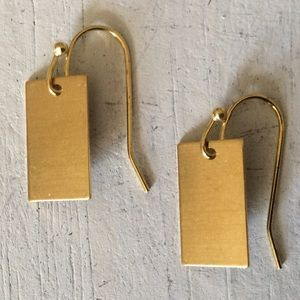 Delicate Simple Style Boho Brass Earrings NEW